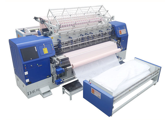 3 Needle Bar 96 Inch 240M/H Industrial Quilt Making Machine