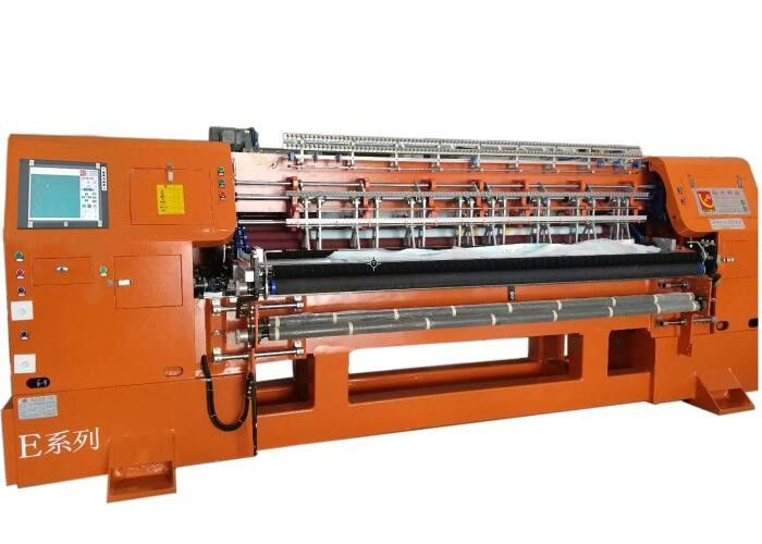 3 Needle Bar 1400 RPM Industrial High Speed Quilting Machine