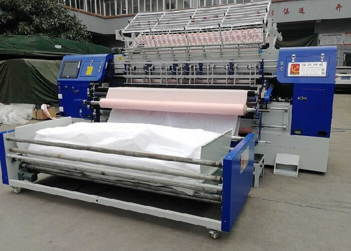 High Precision 210CM Multi Needle Quilting Machine For Pajamas
