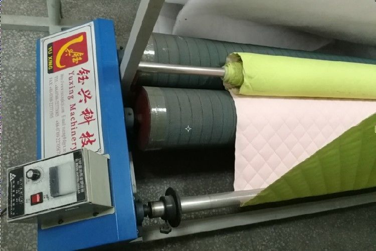 240cm Automatic Fabric Rolling Machine For Quilted Material