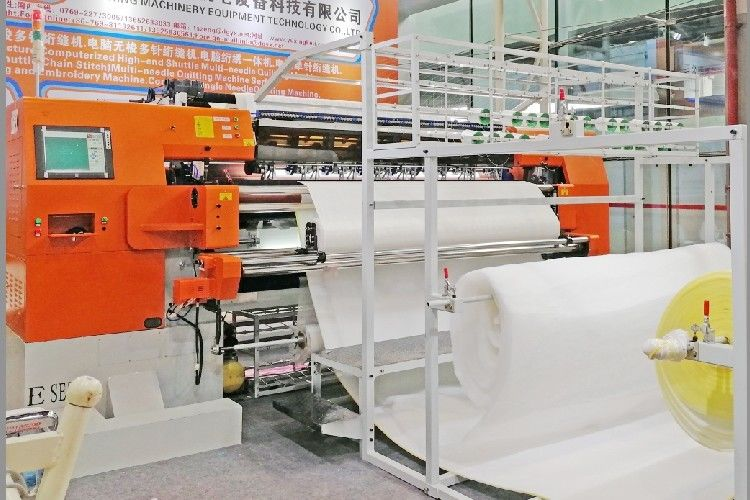 Industrial Computerized Multi Needle Quilting Mattress Machine