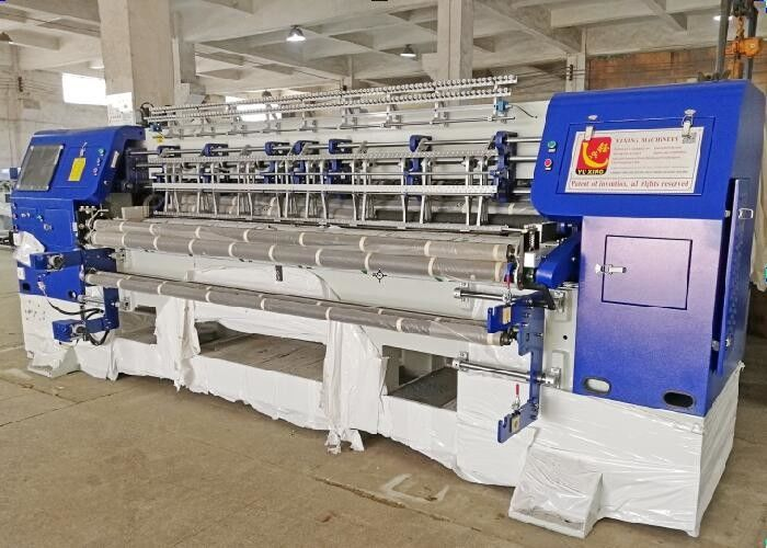82 Inch Blanket Quilt Making Machine With Edge Cutting Device