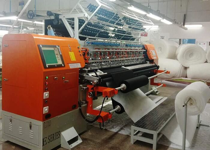 1400 RPM Industrial Quilting Machine With Japanese Servo Motor